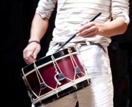Caja y percusiones tradicionales